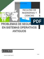 Problemas en El Sistema Operativo