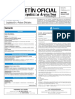 Boletín Oficial de la República Argentina, Número 33.461. 14 de septiembre de 2016