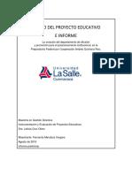 Diseño Del Proyecto Educativofinal Entrega