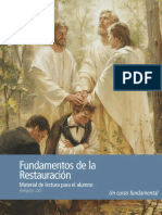 Foundations of the Restoration Student Readings Spa
