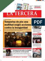 Diario La Tercera 15.09.2016