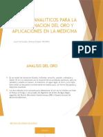 Metodos Analiticos Para La Determinacion Del Oro