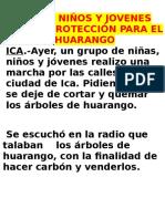 El Huarango Texto