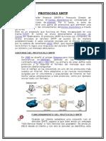 Protocolo Smtp - REDES INFORMATICAS I