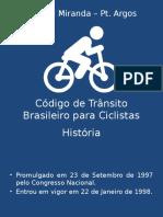 Código de Trânsito Brasileiro Para Ciclistas