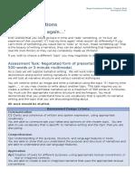 narrative task sheet