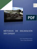 Metodo de Excavacion Sin Zanja