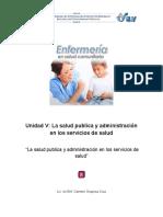 Administracion en Salud Publica