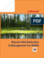 A Manual Disaster Risk Reduction and Management for DSWD
