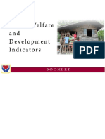 The Social Welfare and Development Indicators Booklet