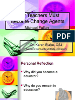 Fullan Teachers Change Agents