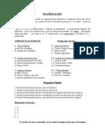 Habilidades de Planificación y Orden. Preguntas
