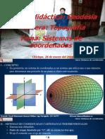 Clase IV Sistemas de Coordenadas
