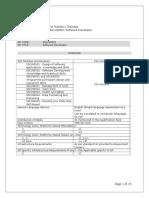 Q0501 Software Developer ITS - Sample Test - V1