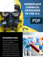 Workplace Chemical Exposures in the U.S.