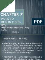 Chapter 7 Paris to Berlin