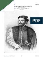 L'impero di Carlo V e il conflitto tra Spagna e Francia