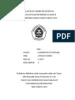 Cover Laprak Parasitologi