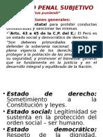2. Derecho Penal Subjetivo
