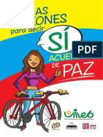 Comic UNEB Si a La Paz Ilustrado 16