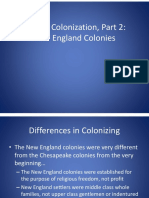 english colonization new england  1