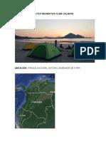campamento tematico recreativo pnn ensenada de utria playa blanca