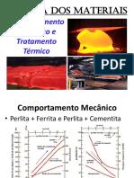 Aula Ix - Comportamento Mecânico e Tratamento Térmico