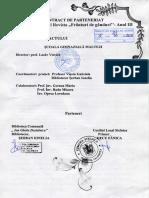 Contract de Parteneriat Revista FRÂNTURI de GÂNDURI 2016 ANUL 3