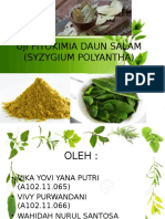 Uji Fitokimia Daun Salam (Eugenia Poliantha) (2)