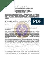 Dios, La Presencia de - Abr99 - Laurence K. McCarty, F.R.C.