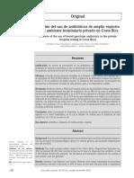 Uso Antibioiticos Hospital Costa Rica 2014