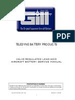Gill battery VRLA Service Manual