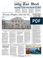 The Daily Tar Heel for Sept. 15, 2016