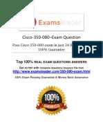 350-080 Exam Q&A