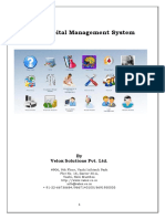 Core Hospital Management System