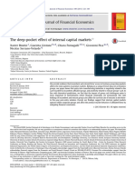 Paper 22S29 the Deep Pocket Effect of Internal Capital Market