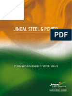 Jspl Sustainability Report 2014 15 (1)