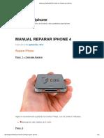 Manual Reparar iPhone 4 _ Pantalla Para iPhone
