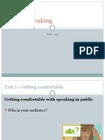 TRL 712-Public Speaking
