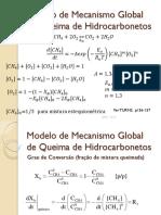 Modelo de Mecanismo Global de Queima