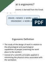 6. Ergonomic