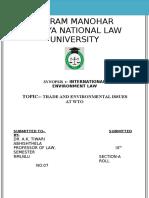 Synopsis i Env Law