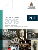 RANZCR Annual Report 2015