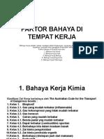 FAKTOR BAHAYA DI TEMPAT KERJA.ppt