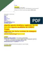 LIBRO Scaletta