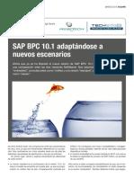 Artículo SAP BPC 10.1 Adaptándose a Nuevos Escenarios (José Luis Fernández) AUSAPE R36 Marzo 2015