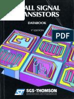 1989 Small Signal Transistors 1ed