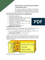 Elementos Principales en La Electrodiálisis Inversa
