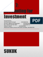 Accounting for Investment