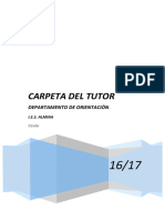 Carpeta Tutor 2016-17